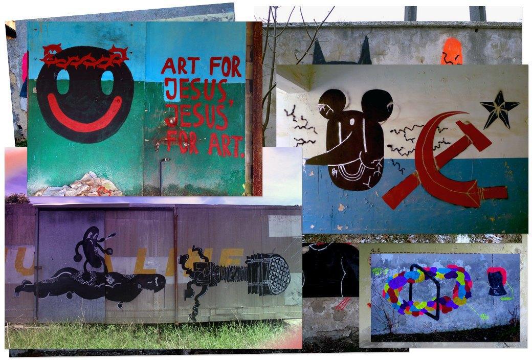 Банда аутсайдеров: Как уличные художники возвращают искусству граффити дух протеста, часть 2. Изображение № 11.