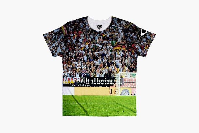 Марка Eleven Paris к чемпионату мира по футболу представила коллекцию футболок. Изображение № 9.