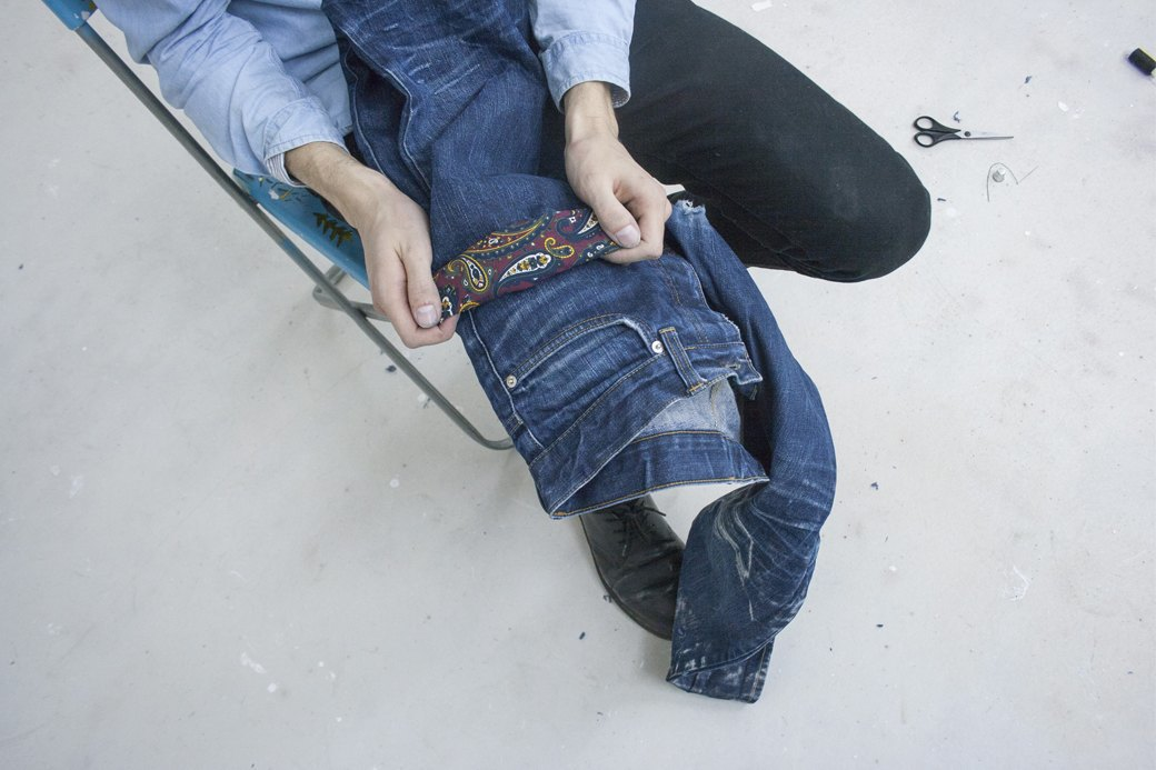 Как кастомизировать любимую пару джинсов. Изображение № 11.