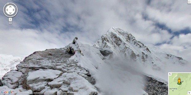 При помощи Google Street View теперь можно побывать на Килиманджаро, Эвересте и других вершинах. Изображение № 1.