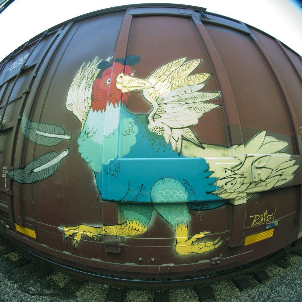 True 2 Death: Блог о разрисованных поездах из Южной Калифорнии. Изображение № 17.