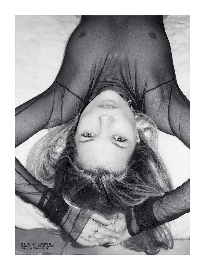 Терри Ричардсон сфотографировал обнаженную Кейт Мосс для журнала Lui Magazine. Изображение № 10.