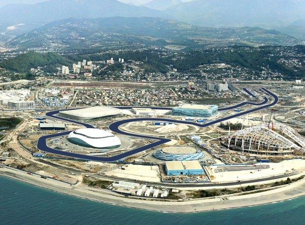 Первая в России гонка «Формулы-1» запланирована на октябрь 2014 года. Изображение № 1.