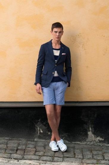 Марка Gant Rugger представила лукбук весенней коллекции одежды. Изображение № 14.