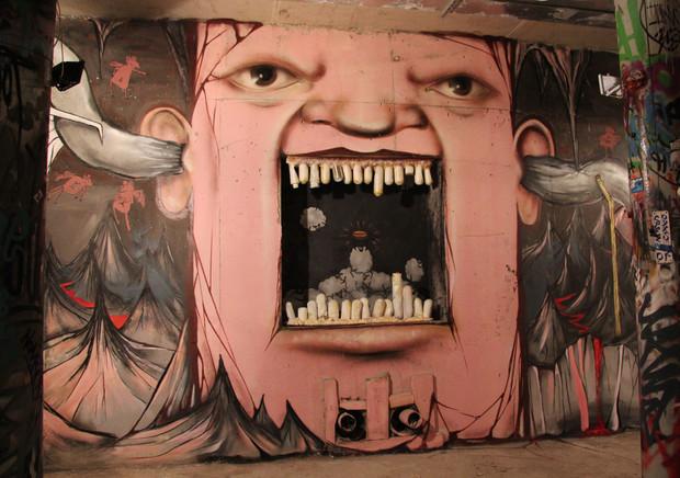 Скетчбук: Уличный художник Nomerz рассказывает о своих избранных работах. Изображение № 21.