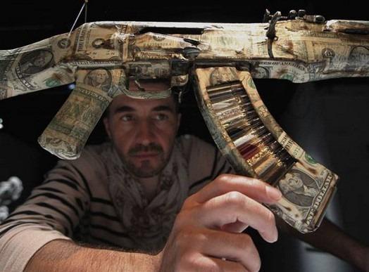 Британские художники представили миролюбивые модификации АК-47. Изображение № 13.