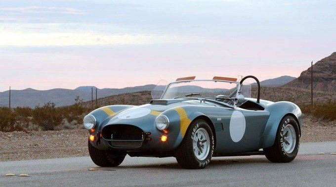 Shelby возродила гоночный спорткар 289 FIA Cobra. Изображение № 1.