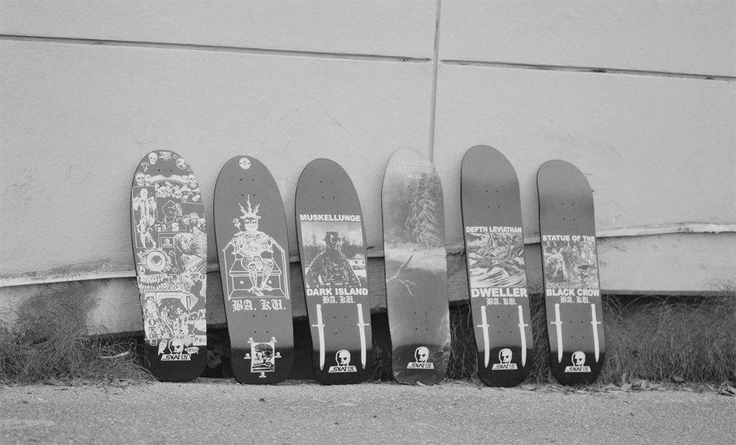 BA.KU.: Фотопроект о загадочной субкультуре канадских скейтеров-металлистов. Изображение № 3.