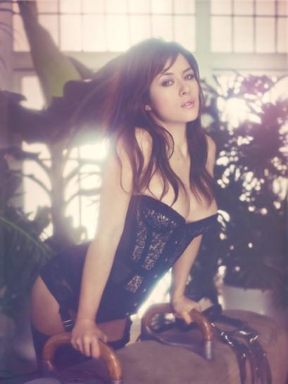 Актриса Милен Жампаной снялась в рекламе нижнего белья Agent Provocateur. Изображение № 5.