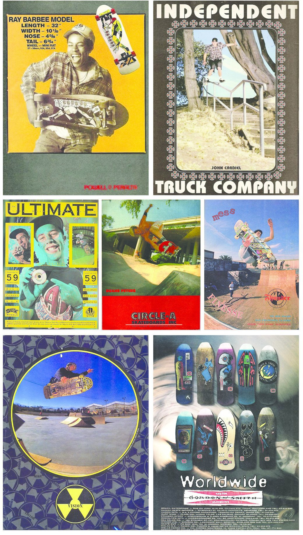 Old Skate Adverts: Залежи винтажных скейт-афиш в формате одного тумблера. Изображение № 2.