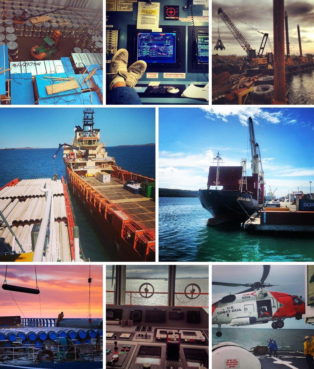 Что публикуют в своих Instagram моряки разных стран. Изображение № 4.