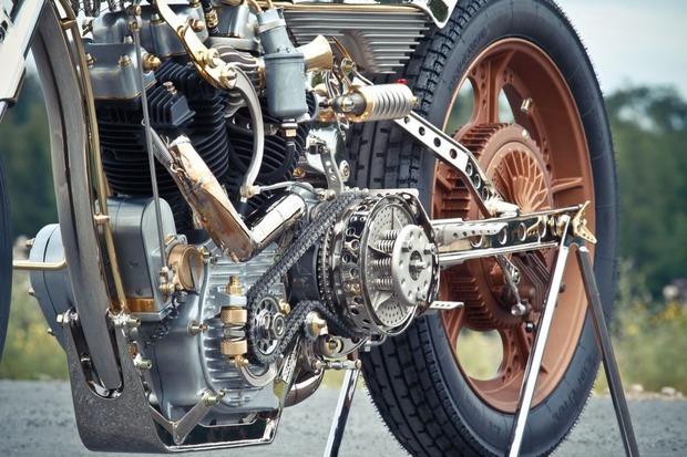 Мотоцикл немецкой мастерской Thunderbike победил в чемпионате мира по кастомайзингу. Изображение № 3.