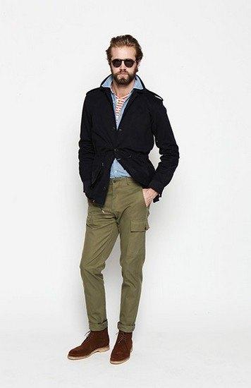 Марка Ovadia & Sons опубликовала лукбук осенней коллекции одежды. Изображение № 10.