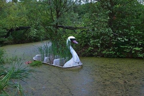 На eBay выставлен заброшенный парк аттракционов . Изображение № 7.
