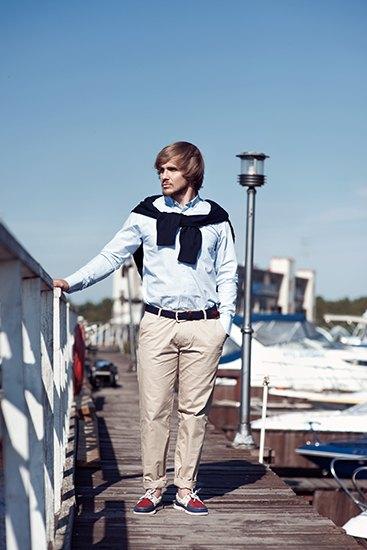 Московский магазин Brandshop опубликовал лукбук английской марки Henri Lloyd. Изображение № 1.