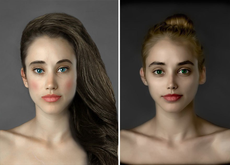 Как отличаются стандарты женской красоты в разных странах . Изображение № 18.