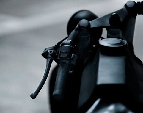 Китайская мастерская Bandit9 выпустила кастомизированный мотоцикл Nero. Изображение № 3.