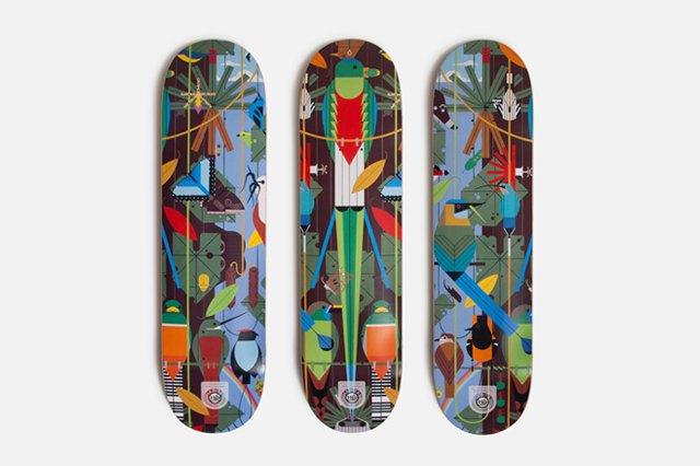 9 скейтбордов с принтами, выпущенных в 2013 году. Изображение № 1.