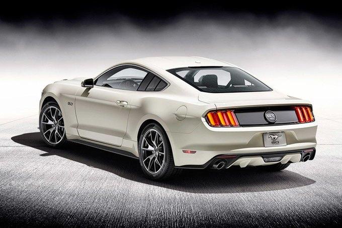 Ford выпустит специальное издание Mustang к 50-летию серии. Изображение № 2.