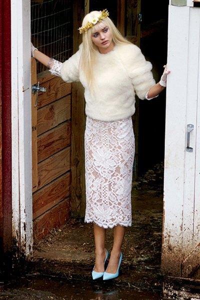 Супермодель Миранда Керр снялась для V Magazine в образе порноактрисы Чиччолины. Изображение № 4.