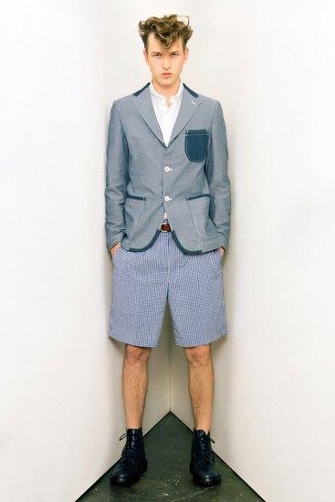 Марка Junya Watanabe Comme des Garcons Man опубликовала лукбук своей весенней коллекции. Изображение № 2.