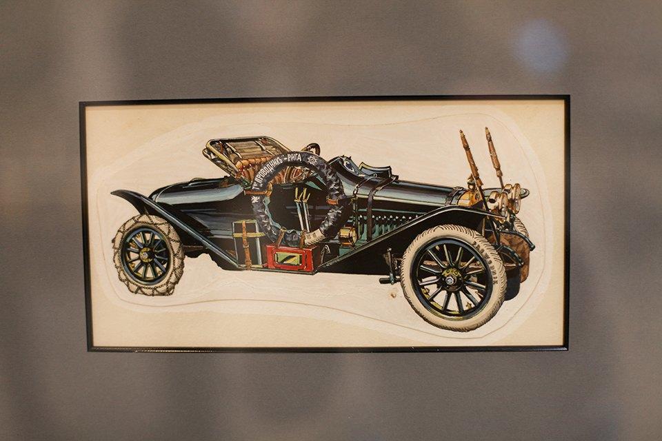 Машина времени: Лучшие экземпляры автовыставки «Олдтаймер». Изображение № 27.