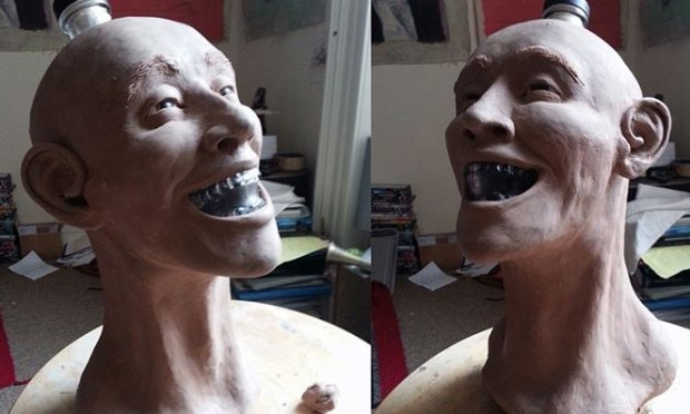 Шотландец восстановил лицо человека по черепу с бутылки водки Crystal Head. Изображение № 6.