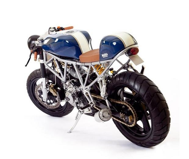 Португальская мастерская Maria Motorcycles представила мотоцикл Italian Sniper. Изображение № 3.
