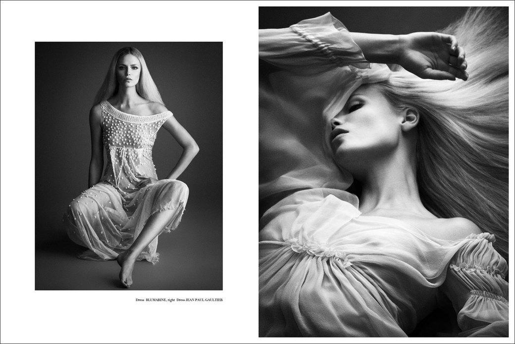 Наташа Поли сфотографировалась для журнала Treats!. Изображение № 2.