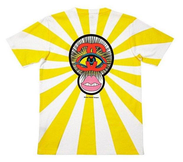 Марка Stussy и японский художник Кейичи Танами выпустили совместную коллекцию футболок. Изображение № 5.