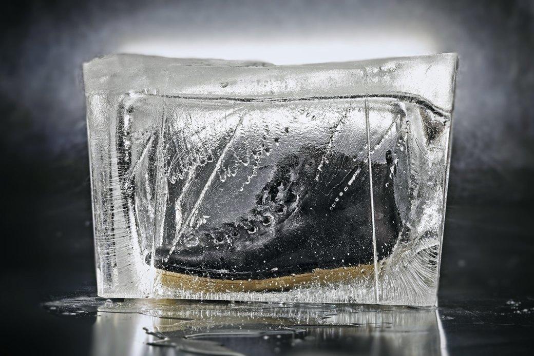 Тест-драйв зимних ботинок в кубах льда. Изображение № 2.