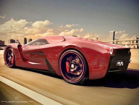 Представлен новый концепт суперкара на базе Ferrari 458 Italia. Изображение № 13.