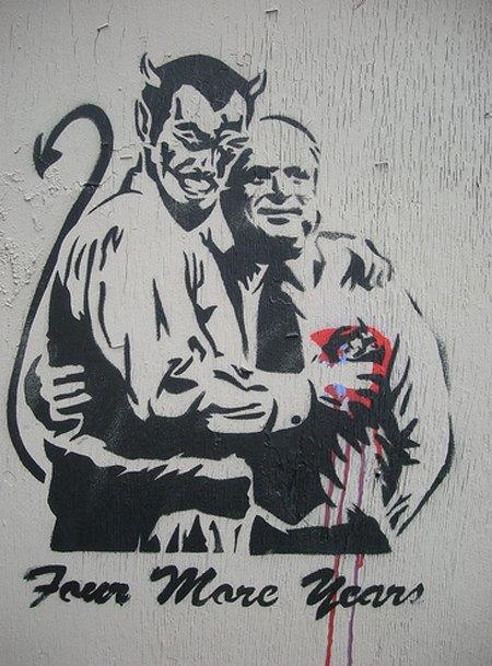 15 политических граффити из разных уголков мира. Изображение № 10.