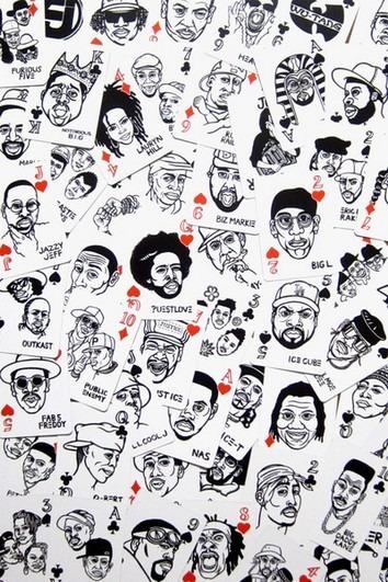 В Японии выпустили игральные карты с хип-хоп-музыкантами. Изображение № 5.