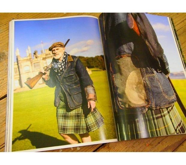 Японская марка Kapital выпустила лукбук весенней коллекции одежды. Изображение № 13.