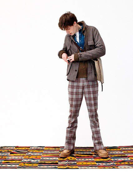 Японская марка Visvim опубликовала лукбук осенней коллекции одежды. Изображение № 15.