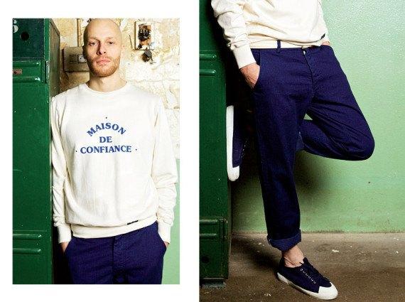 Марка Bleu de Paname опубликовала лукбук весенне-летней коллекции одежды. Изображение № 5.