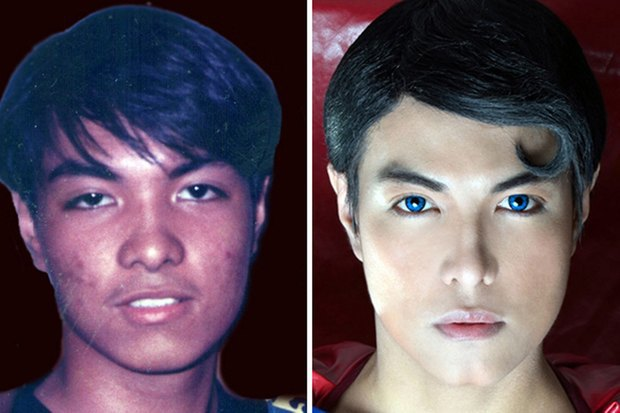 Филиппинец превратился в Супермена при помощи 13 пластических операций. Изображение № 1.
