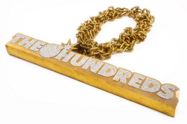 Марка The Hundreds и рэпер Ben Baller создали самую дорогую в мире золотую цепь. Изображение № 2.