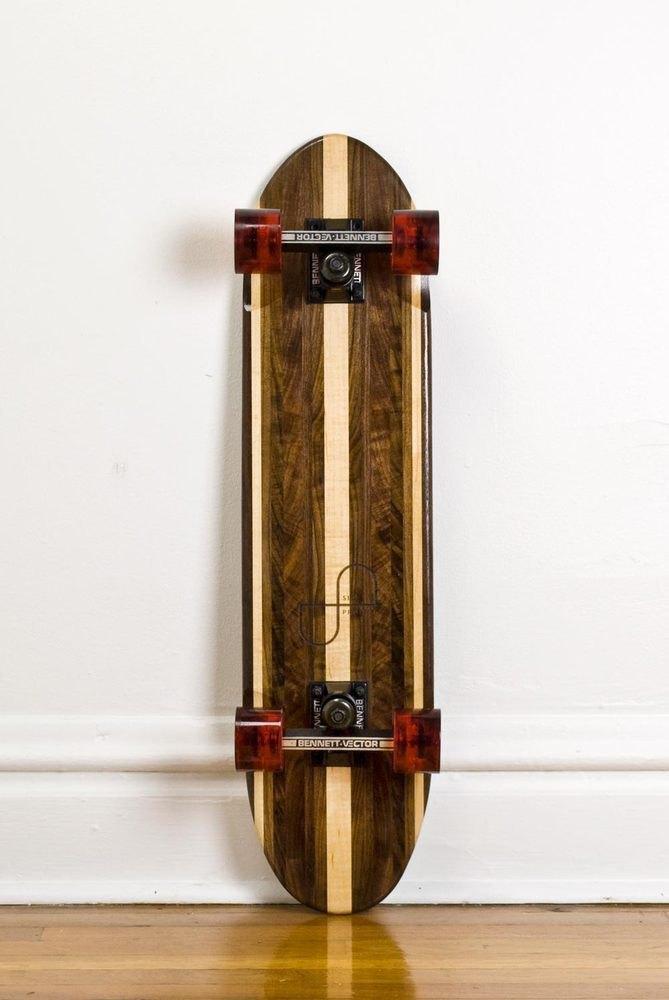 Дизайнер Джейк Эшелман выпустил коллекцию скейтбордов ручной работы. Изображение № 7.