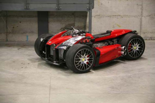 Квадроцикл с мотором Ferrari компании Ludovic Lazareth. Изображение № 8.