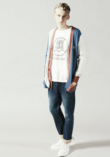 Марка Neighborhood опубликовала лукбук весенней коллекции одежды своей линейки Luker. Изображение № 7.