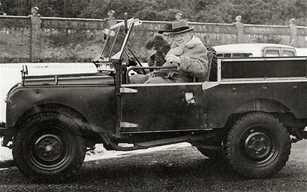 Land Rover Уинстона Черчилля продан на аукционе за 200 тысяч долларов . Изображение № 2.