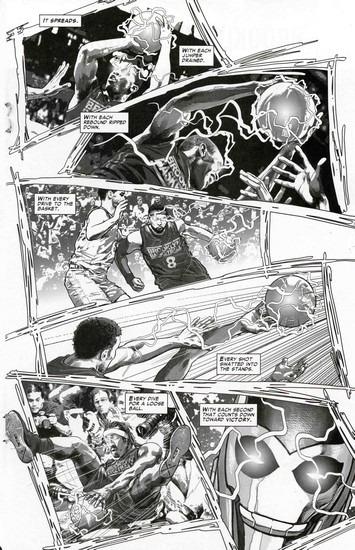 Marvel представили первого в истории супергероя-баскетболиста. Изображение № 13.