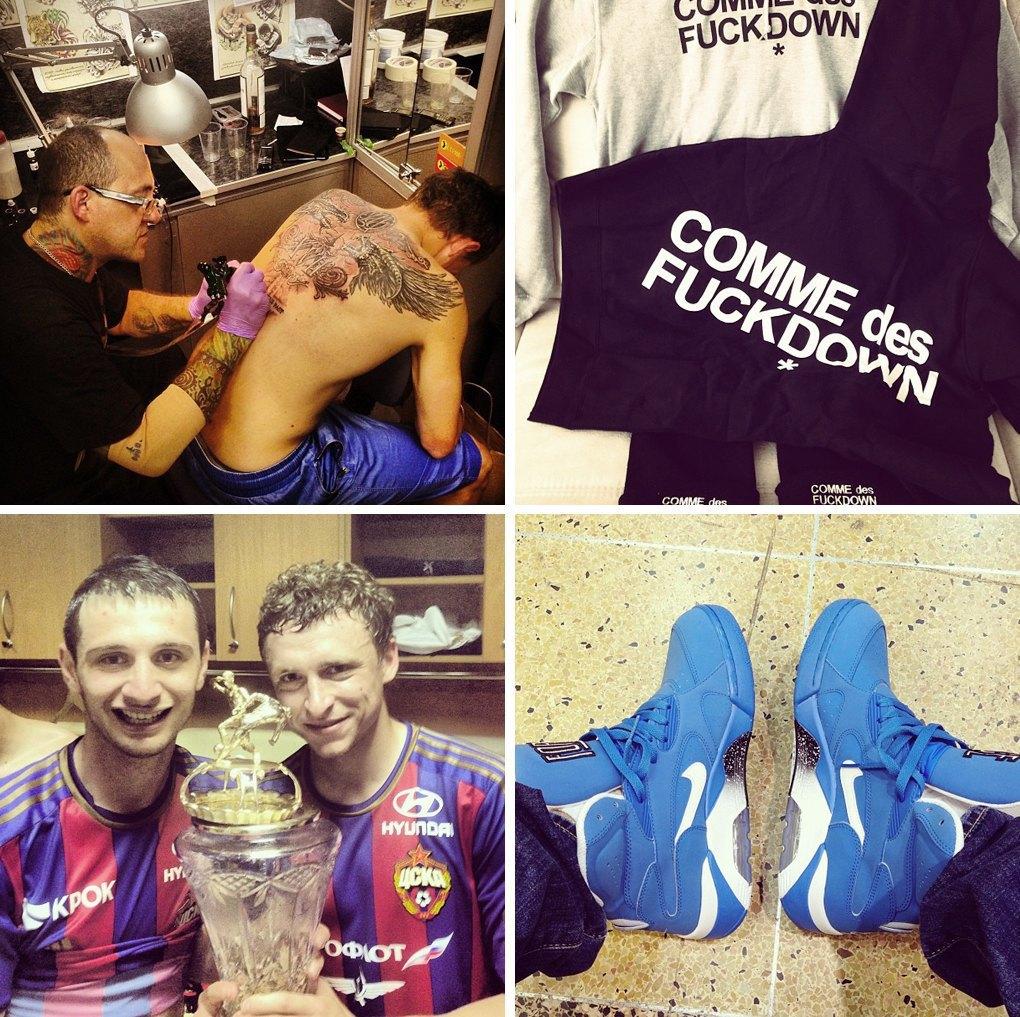 Что публикуют в своих Instagram российские футболисты. Изображение № 3.