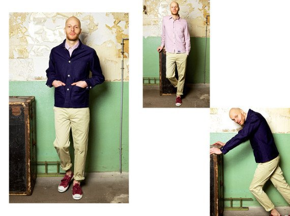 Марка Bleu de Paname опубликовала лукбук весенне-летней коллекции одежды. Изображение № 2.