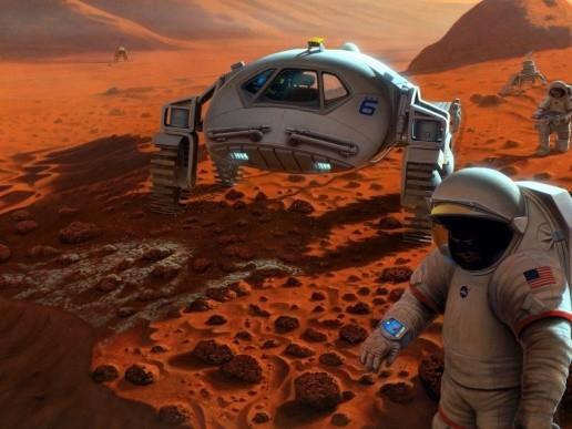 В 2023 году на Марсе может появиться первая колония. Изображение № 1.