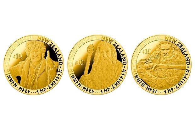 В Новой Зеландии появятся монеты и марки с изображением героев Толкина. Изображение № 2.