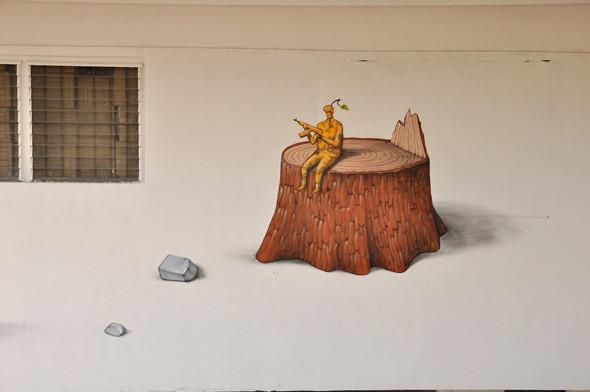 Скетчбук: Участники граффити-дуэта из Киева Interesni Kazki рассказывают о своих лучших работах. Изображение № 40.