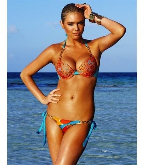 Модель Кейт Аптон снялась в рекламе купальников марки Beach Bunny . Изображение № 11.